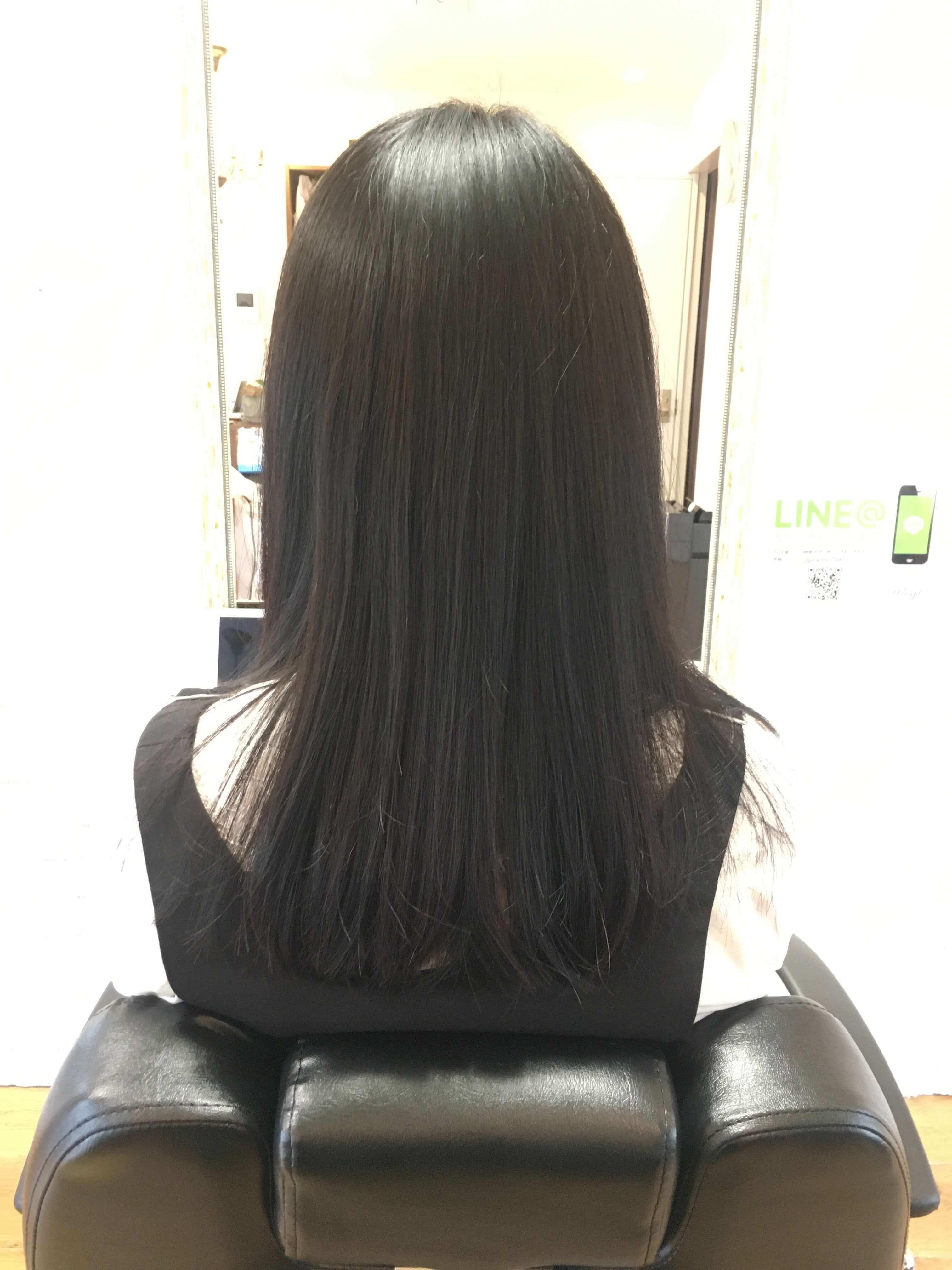 阿倍野の美容院(美容室)アトリ 髪質改善その1