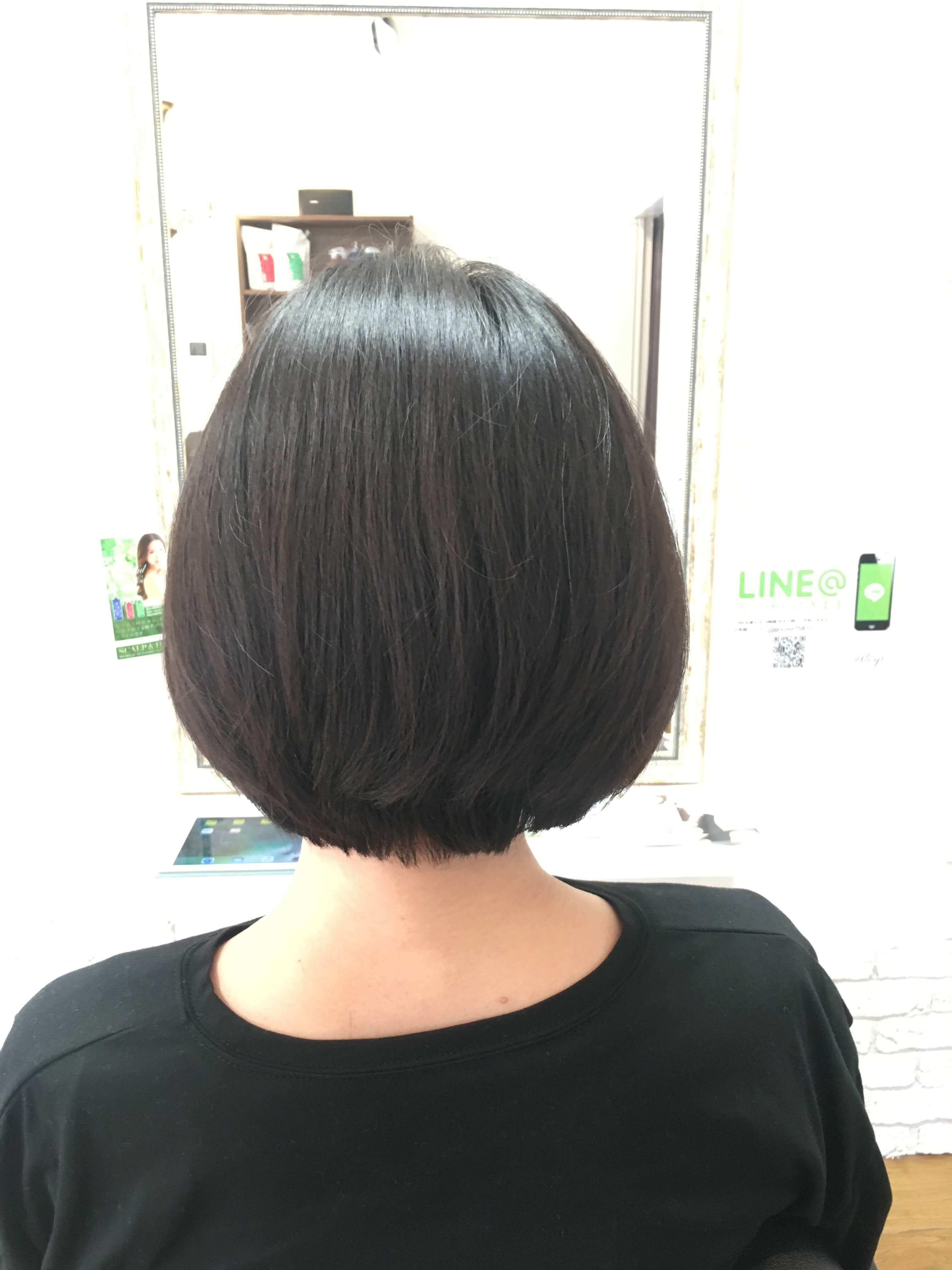 阿倍野の美容院(美容室)アトリ 髪質改善その4